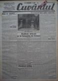 Cuvantul , ziar legionar , 4 Iunie , 1933 , articole Nae Ionescu , Racoveanu, Nae Ionescu