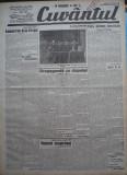 Cuvantul , ziar legionar , 3 Iunie , 1933 , articole Nae Ionescu , M. Sebastian
