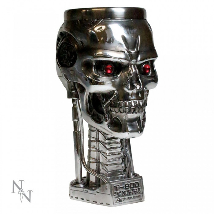 Pocal Terminator - cap foto mare