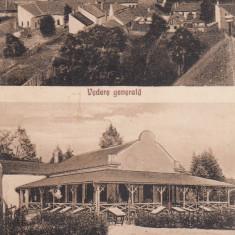 FAGARAS, VEDERE GENERALA SI PARCUL REGINA MARIA, CIRCULATA 1930 - Carte Postala Transilvania dupa 1918, Printata