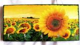 Cuier din lemn natural cu floarea soarelui 24007