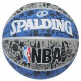 """Minge Spalding NBA Graffiti - Originala - Anglia - Marimea Oficiala """" 7 """""""