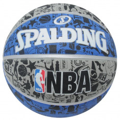 Minge Spalding NBA Graffiti - Originala - Anglia - Marimea Oficiala