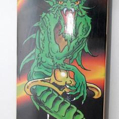 Skateboard Spartan Dragon - Roti Silikon - Axe Aluminiu - Rulmenti ABEC 5 - Nou, Marime: 31