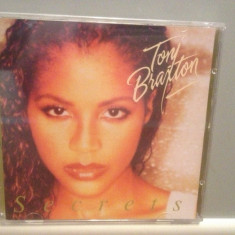 TONY BRAXTON - SECRETS (1996/ARISTA REC/GERMANY) - ORIGINAL/NOU/SIGILAT - Muzica R&B arista, CD