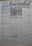 Cuvantul , ziar legionar , 28 Mai , 1933 , articole Nae Ionescu , Racoveanu, Nae Ionescu