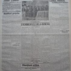 Cuvantul , ziar legionar , 28 Mai , 1933 , articole Nae Ionescu , Racoveanu