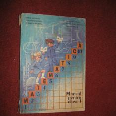Manual Matematica clasa I - 1985 - Vasile Motrescu , Ghe.Herescu