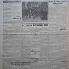 Cuvantul, ziar legionar, 5 Iunie, 1933, articole Perpessicius, Racoveanu