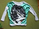 tricou superb MADE IN ITALY model desigual marimea M