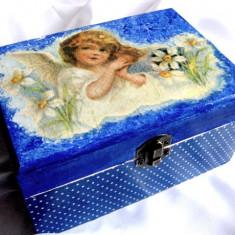 Cufar/Cutie de lemn 14794 - Cutie Bijuterii