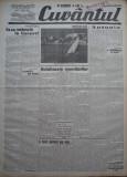 Cuvantul , ziar legionar , 1 Iunie , 1933 , articole Nae Ionescu , M. Sebastian