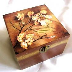 Cutie lemn decorata - 26372