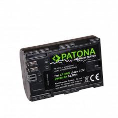 PATONA Premium | Acumulator pt Canon LP-E6N LP E6N LP-E6 7D Mark II XC10 80D - Baterie Aparat foto