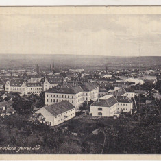 Bnk cp Deva - Vedere generala - uzata 1932 - Carte Postala Transilvania dupa 1918, Circulata, Printata
