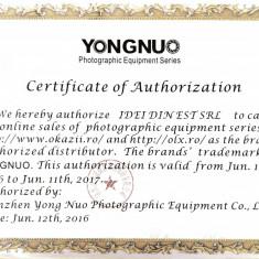 Flash / blit Yongnuo YN 660 compatibil Canon, Nikon, Pentax, garantie (560 iv - Echipament Foto Studio