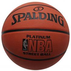 Minge Spalding NBA Platinum - Originala - Anglia - Marimea Oficiala