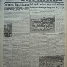 Cuvantul, ziar legionar, 6 Iunie, 1933, editie speciala