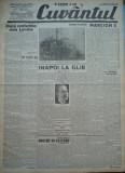 Cuvantul , ziar legionar , 24 Iunie , 1933 , art. Nae Ionescu , Mihail Sebastian, Nae Ionescu