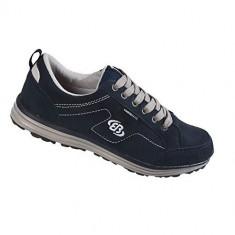 Pantofi barbatesti Brutting Novel Marine/Grau (BRU-1000-NAV), Marime: 39, 43, 46, Culoare: Bleumarin, Piele intoarsa