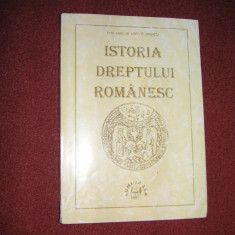 Istoria dreptului romanesc - Liviu P.Marcu - Carte Istoria dreptului