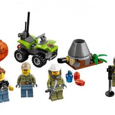 Lego - City Volcano Explorers - Set Pentru Incepatori: Vulcanul