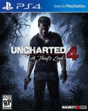 Uncharted 4 A Thief's End Ps4, Actiune, 16+, Sony