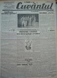 Cuvantul , ziar legionar , 18 Iunie , 1933 , articole Nae Ionescu , Racoveanu, Nae Ionescu