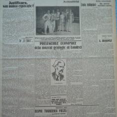 Cuvantul , ziar legionar , 18 Iunie , 1933 , articole Nae Ionescu , Racoveanu
