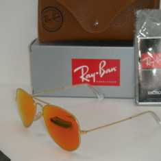 RAY BAN 3025 AVIATOR Large Metal 112/69, 100% ORIGINALI !!! - Ochelari de soare Ray Ban, Unisex