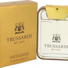 PARFUM TRUSARDI MY LAND 100 ML --SUPER PRET, SUPER CALITATE! - Parfum barbati Trussardi, Apa de toaleta
