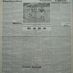 Cuvantul, ziar legionar, 12 Iunie 1933, artic. Mihail Sebastian, Perpessicius
