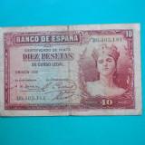 HOPCT SPANIA 10 PESETAS 1935 [ 5 ]