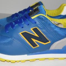 Adidasi NEW BALANCE 574 - Noua Colectie !!! - Adidasi barbati New Balance, Marime: 36, 37, 38, 39, Culoare: Albastru, Textil