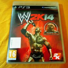 Joc WWE 2k14, PS3, original, alte sute de jocuri! - Jocuri PS3 Thq, Sporturi, 16+, Multiplayer