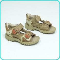 DE CALITATE → Sandale din piele, comode, aerisite, ELEFANTEN → baieti | nr. 27 - Sandale copii Elefanten, Culoare: Bej, Piele naturala