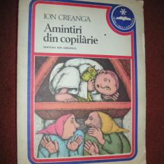 Amintiri din copilarie - Ion Creanga- ilustratii de Silviu Baias - 1979 - Carte de povesti