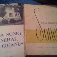 SONETE DE MIHAI CODREANU 1957 288 PAG + VILA SONET - Carte veche