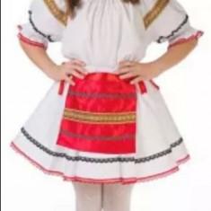 Costum popular fata (134-146cm) - Costum populare, Marime: S, M, L, Culoare: Din imagine