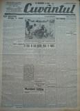 Cuvantul , ziar legionar , 25 Iunie , 1933 , artic. Nae Ionescu , Mircea Eliade, Nae Ionescu
