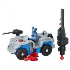 Jucarie Marvel Captain America Civil War Captain America With Blast-Action 4X4 - Vehicul Hasbro