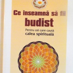 CE INSEAMNA SA FII BUDIST, PENTRU CEI CARE CAUTA CALEA SPIRITUALA de DZONGSAR JAMYANG KHYENTSE, 2008 - Carte ezoterism