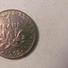CY - Franc 1962 Franta RARA / mai rara