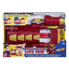 Jucarie Captain America Civil War Slide Blast Armour - Pistol de jucarie Hasbro