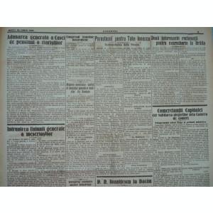 Cuvantul , ziar legionar , 20 Iunie 1933 , editie speciala