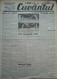 Cuvantul , ziar legionar , 21 Iunie , 1933 , artic. Mihail Sebastian , Racoveanu