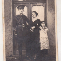 bnk foto militar roman cu familia - 1935