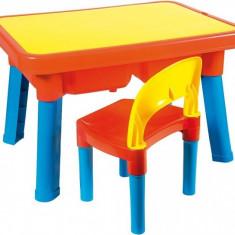 Set Masuta Cu Scaun Din Plastic Multi Activitati - Set mobila copii