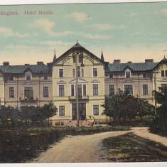 Bnk cp Techirghiol - Hotel Movila - circulata 1913 - Carte Postala Dobrogea 1904-1918, Printata