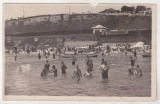 bnk cp Plaja Movila - Vedere  - uzata 1946